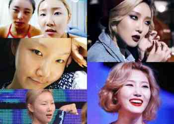 tanpa make up Hwa Sa MAMAMOO - Cuma Fans Sejati yang mengerti, ini dia 12 Wajah asli Artis Korea tanpa make up, beda juga ya !