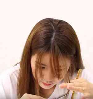 "Poni see through ala Korea 4 - Cara Memotong Poni 'See Through"" ala Korea"