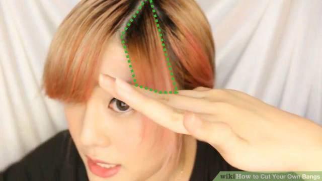 cara memotong poni samping 7 - Cara Memotong Poni Samping Ala Korea Di Rumah  Tanpa Perlu 8e7c4ac0b1
