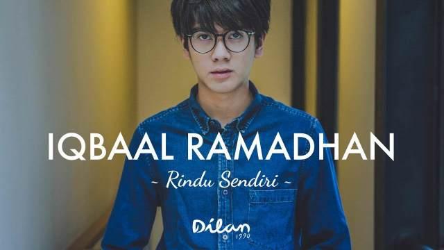 iqbal ost dilan - Lirik Lagu Rindu Sendiri - Iqbaal Ramadhan (Ost.Dilan)