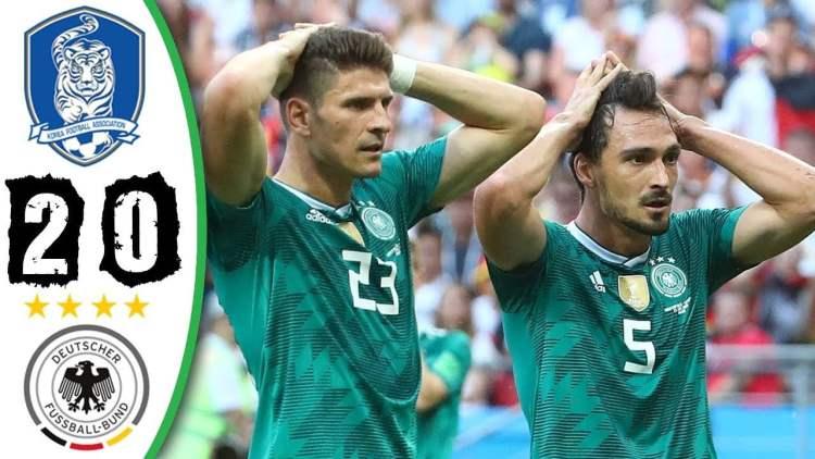 Hasil Piala Dunia 2018 • Korea Selatan vs Jerman 2 0 • 27 Juni 2018 Group F - Gagal Lolos, Jerman Kalah Telak atas Korea (2 - 0) - Highlight Gol Piala Dunia