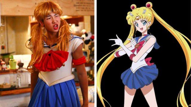 rap monster mirip dengan sailormoon - Wow, Para Idol K-Pop ini Mirip Banget Dengan Karakter Anime