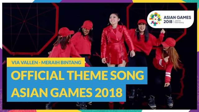 via vallen meraih bintang - Lirik Lagu Meraih Bintang - Via vallen Official Theme Song Asian Games 2018