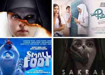 berbagai gilm horor animasi komedi dan sihir yang akan tayang di bioskop bulan september 2018 - Daftar Film Bioskop Terbaru di Bulan September 2018