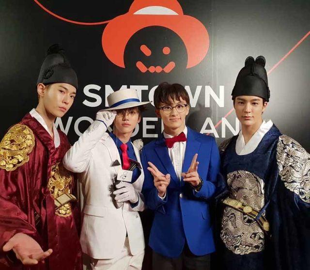 NCT kostum halloween 750x653 - Seram & Lucu! Deretan Kostum Halloween Idol KPop Terbaik dan Terbaru