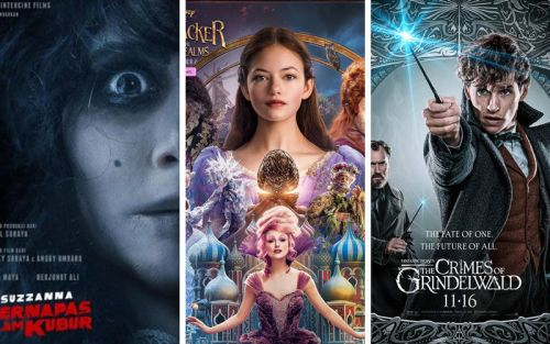 film november 2018 suzzanna nutcracker fantastic beasts - 10 Film Bioskop Terbaru November 2018