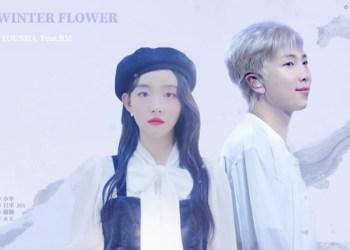 Lirik Lagu Winter Flower - Younha feat RM BTS (Hangul, English, Latin dan Indonesia)