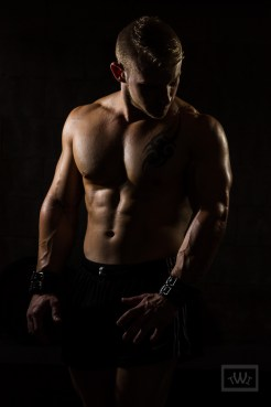 Personal Trainer Dramatic Lighting Portrait