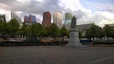 #DenHaag city scape from Het Plein. | Aug.21