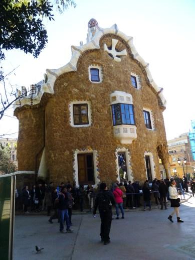 Hansel & Gretel's gingerbread house.
