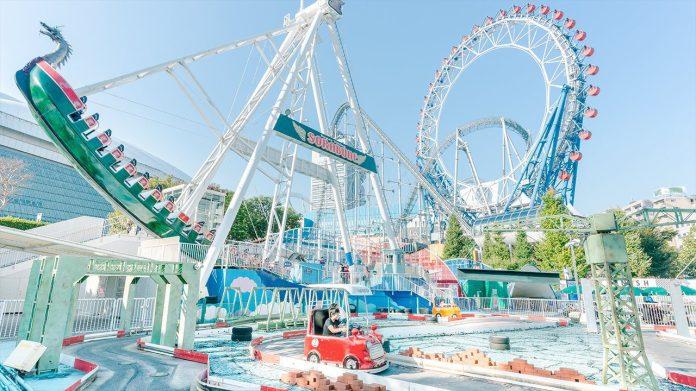 東京巨蛋城遊樂園 Dome City Attractions
