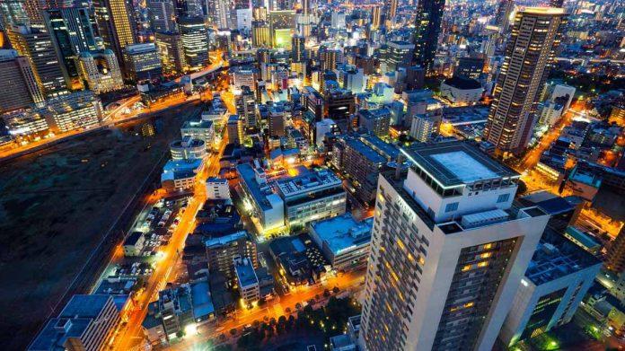 梅田藍天大廈夜景