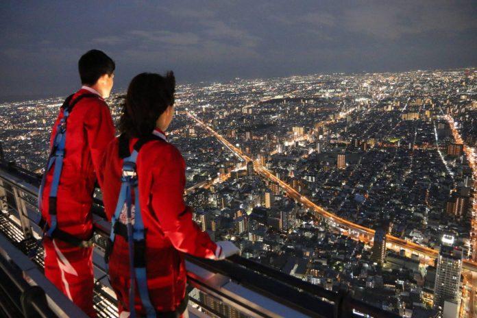 阿倍野 HARUKAS 高空體驗夜景。圖片來源:research net
