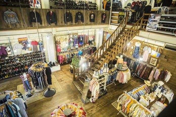 JAM古著店 一樓。圖片來源:comepass
