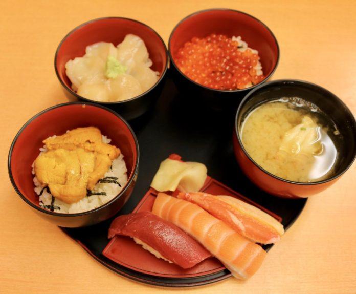 寿司処 けいらん 壽司五膳 1