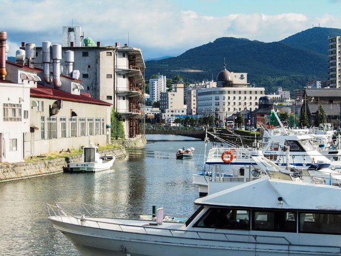 小樽運河 北運河