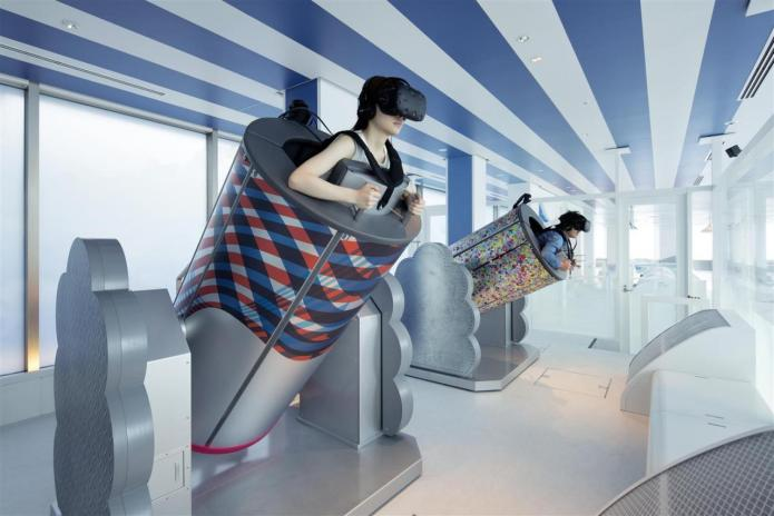 SKY CIRCUS陽光60瞭望台 VR飛行體驗