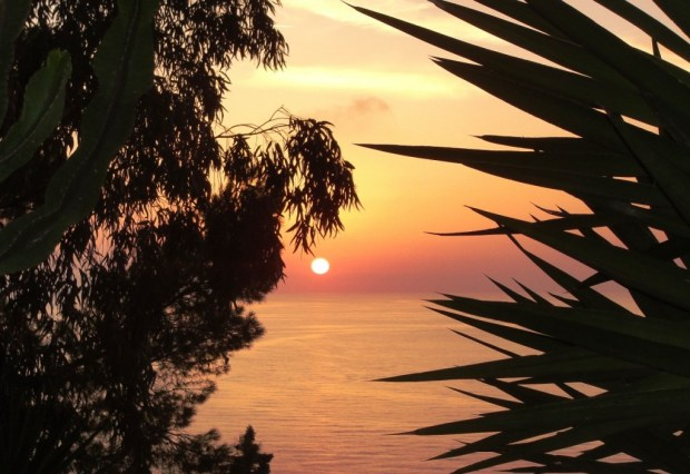 Sunset, Anacapri, Italy