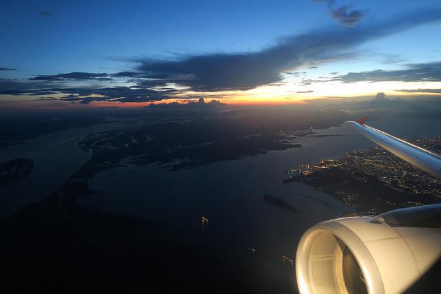 Manaus to Rio, Brazil