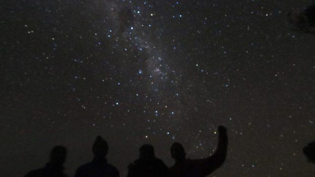 otter trail night sky