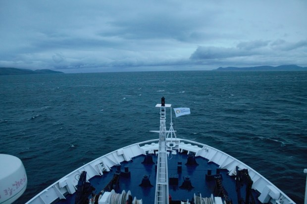 beagle sailing to antarctica