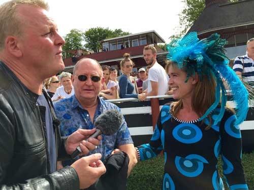Jan Gintberg var til Derby på Klampenborg. Foto DR