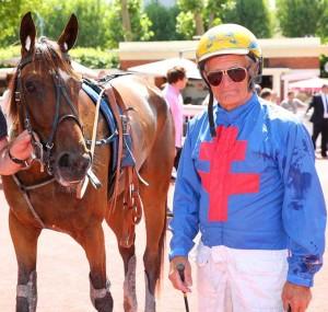 Jean Pierre Dubois, der på lørdag fyldet 75 år, er still going strong. Foto Scoopp Dyga