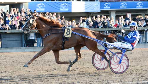 Slfas da Vinci vandt hekt efter behag i ny svensk rekord 1.12.0a/2640 m. Kanal 75