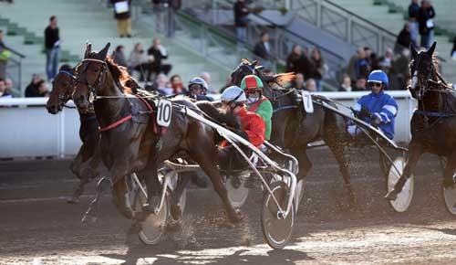 Cristal Money med Franck Nivard vinder sikkert. Foto Gerard Forni