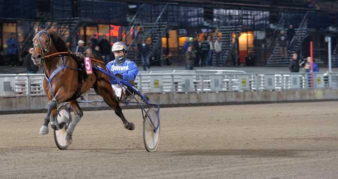 Trods en startfejl der kostede omkring 30 meter var Mister JP med Bjærn Goop alligevel en sikker vinder i flotte 1.13.6a/1640 m. Kanal 75