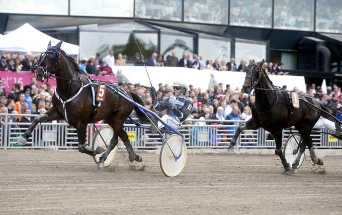 SCure med Christoffer Eriksson speedede bedst af alle. Foto Kanal 75