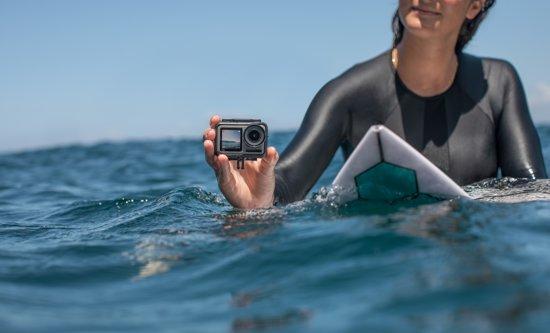 Surf met beste action camera
