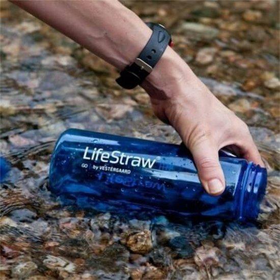 Waterfilter voor wandeltocht