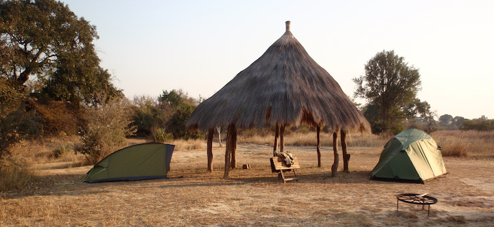 Tent in Afrika