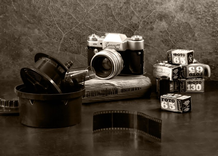 Oud fotoboek maken