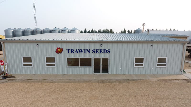Trawin Seeds new office located in the front entrance