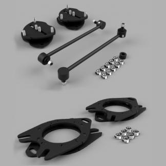 Kit #202040 – 2017-2021 Honda Ridgeline 2wd/4wd/AWD/ 2016-2021 Pilot – 2″ Front 2″ Rear Lift Kit