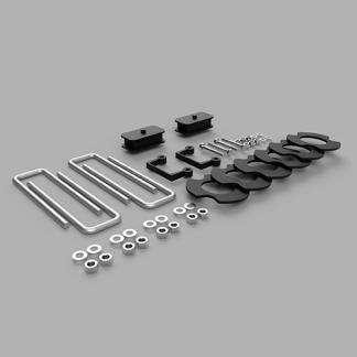 Kit #406055 – 2019-2021 Chevrolet Silverado 1500 – 1″-2″ Front 1″ Rear Lift Kit