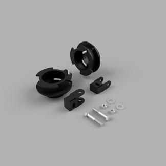 KIT #605033 – 2014-2021 Dodge Ram 2500 4×4/4×2 / 2013-2019 Dodge Ram 3500 – 2″ Front Level Kit
