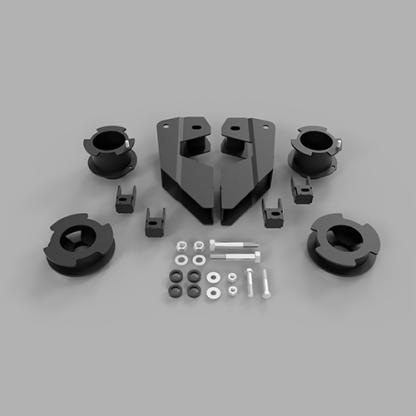 Kit #605050 fits 2014-2021 Dodge Ram 2500 4×4/4×2 Lift Kit – 3.5″ Front 2″ Rear