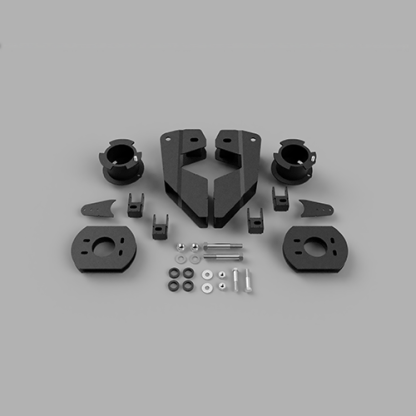 Kit #605051 fits 2014-2021 Dodge Ram 2500 4×4/4×2 Lift Kit – 3.5″ Front 2″ Rear FOR AIR RIDE ONLY