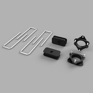 Kit #905021 – 2016-2019 Toyota Tacoma 2wd/PreRunner/4wd – Front And Rear Lift Kit 3″/1.5″