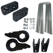 Kit #405030 – 2000-2010 Chevy / GMC 8-Lug Series 1500/2500/3500 Trucks & SUV's – Front And Rear Lift Kit