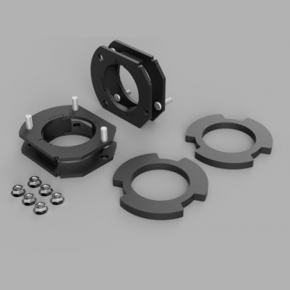 KIT #408010 – 2007-2016 GMC Acadia 2009-2017 Chevy Traverse – 1.75″ FRONT ONLY LIFT KIT
