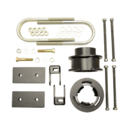 Kit #605047 – 2013-2021 Dodge Ram 3500 4X4/4×2 – 2.5″ Front And 1″ Rear Lift Kit – DIESEL WITHOUT OVERLOAD SPRINGS ONLY
