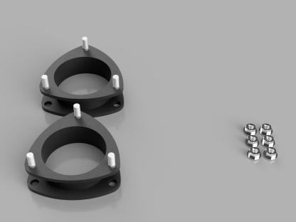 Kit #906011 – 2011-2019 Toyota Sienna – 1.5″ Level Kit
