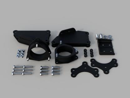 Kit #906060 Toyota Highlander- 2020-21 2″ Front & 2″ Rear lift Kit