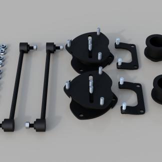 "Kit #202055 - 2018-2022 Honda Odyssey - 2"" Front/2"" Rear"