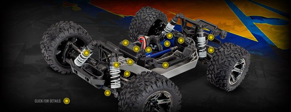 Traxxas - 67076-4 Rustler® 4X4