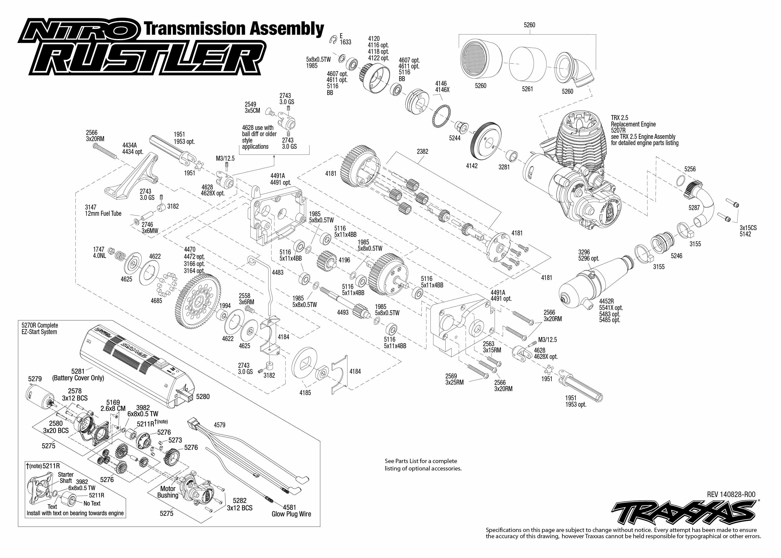 Traxxas Nitro Rc Engine